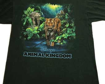 2cf423487ed Vintage 90s Disney Animal Kingdom T-Shirt