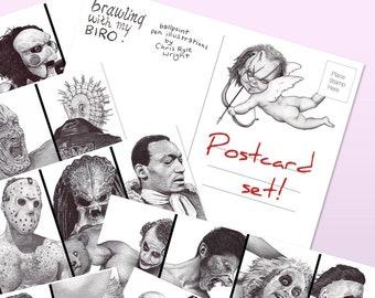 If Looks Could Kill Postcard Set