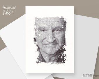 Robin Williams (Fine Art Print)