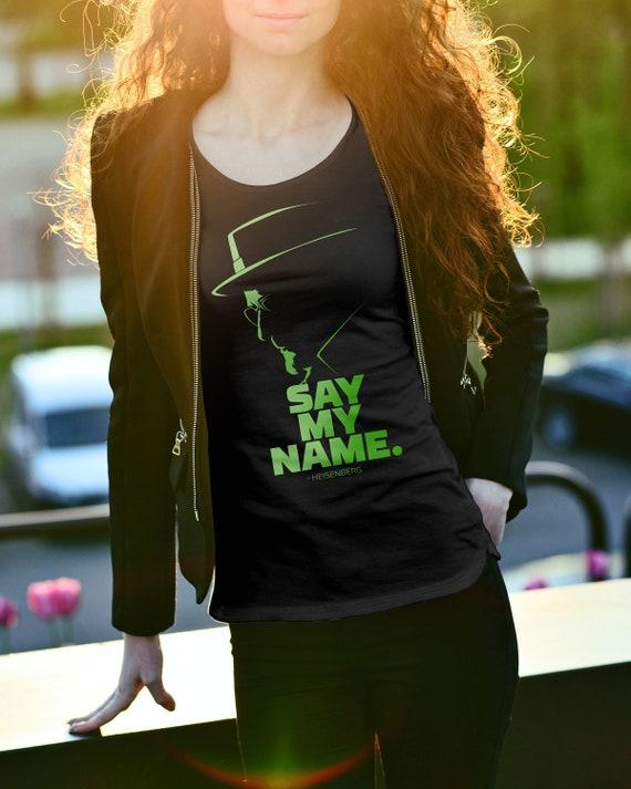 HEISENBERG Movies Shirt Heisenberg Tshirt |Heisenberg Shirt Say my name Shirt tv series shirt