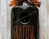 Grateful Decal for Birdhouse