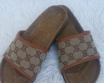 db8a1696faf437 Upcycled Gucci Slides