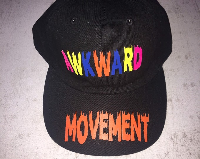 Awkward 5 Panel Hat