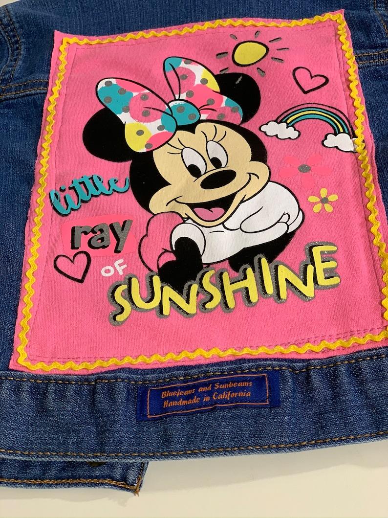Denim  Jean Trucker Jacket Little Ray of Sunshine Carter/'s Size 2T