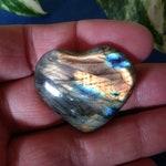 Flashy Madagascar Labradorite Heart 14g