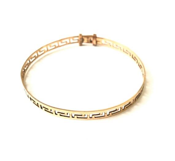 Vintage VERSACE Motif Bracelet
