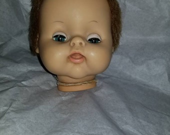 Vintage FibreCraft Fibre Craft Puppet Doll Head /& Hands Set NIP