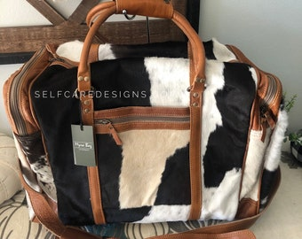 Myra Bag Cowhide Hairon And Cotton Rug Shoulder Bag Western Etsy Every bag is truly handcrafted with spirit of vintage see more of myra bag on facebook. etsy