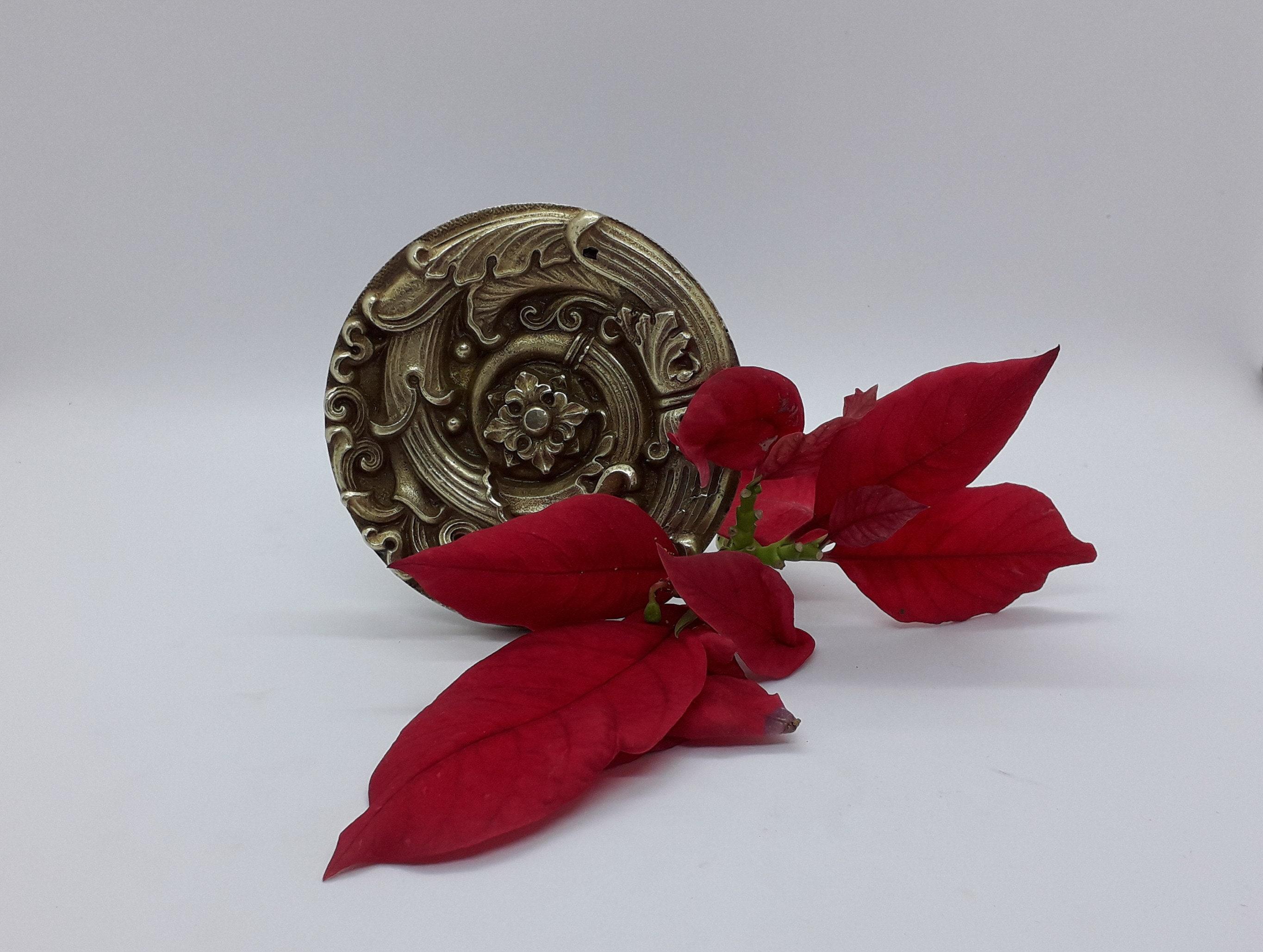 Meuble Pour Loisirs Créatifs Élément de décoration, forme bouclier, bronze doré, pour meuble ou autre,  style directoire empire, époque napoléon iii, antiquité française