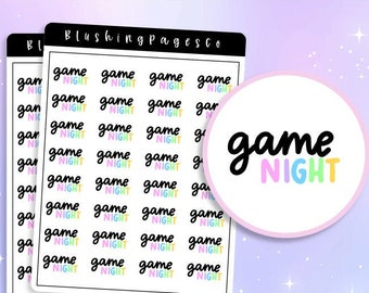Game Night BPS212