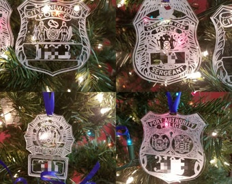 University of Illinois Police Ornament
