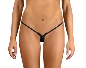 Damen Brasil Bikini Badeanzug Orange Blau Weiss String Tanga Größe 34 36 38 NEU
