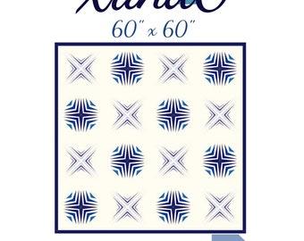 XandO-foundation paper pieced pattern-pdf download