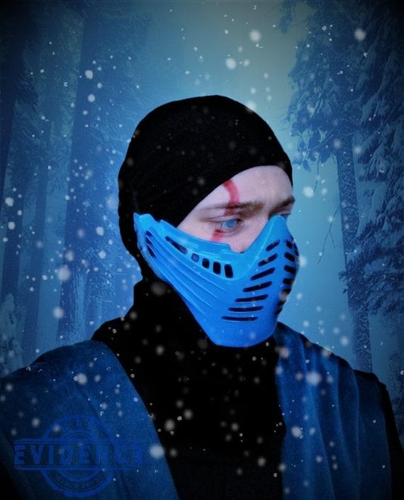 Classic Mortal Kombat 2 Sub Zero Mask Etsy