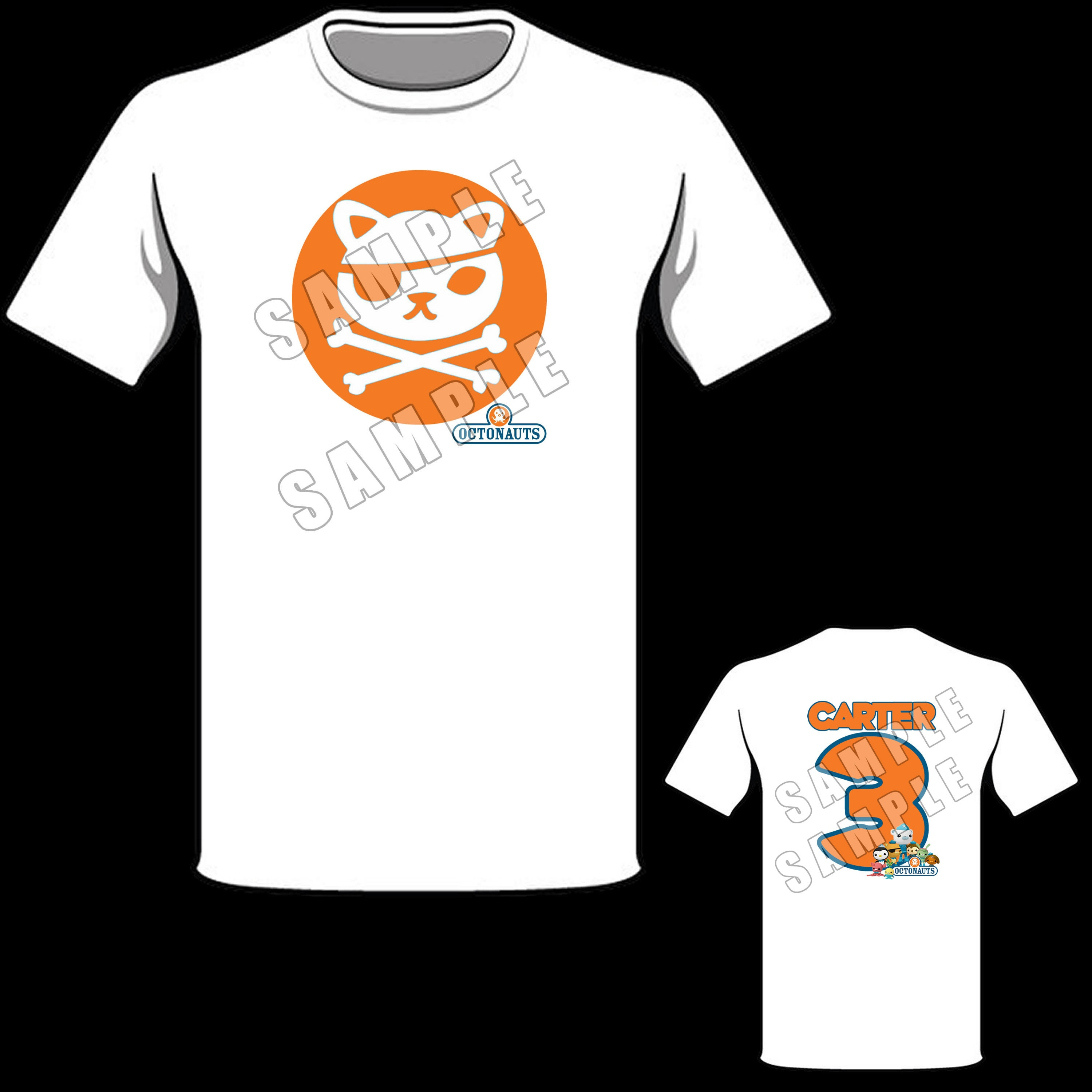 Birthday T-Shirt Party Favor Personalized Octonauts