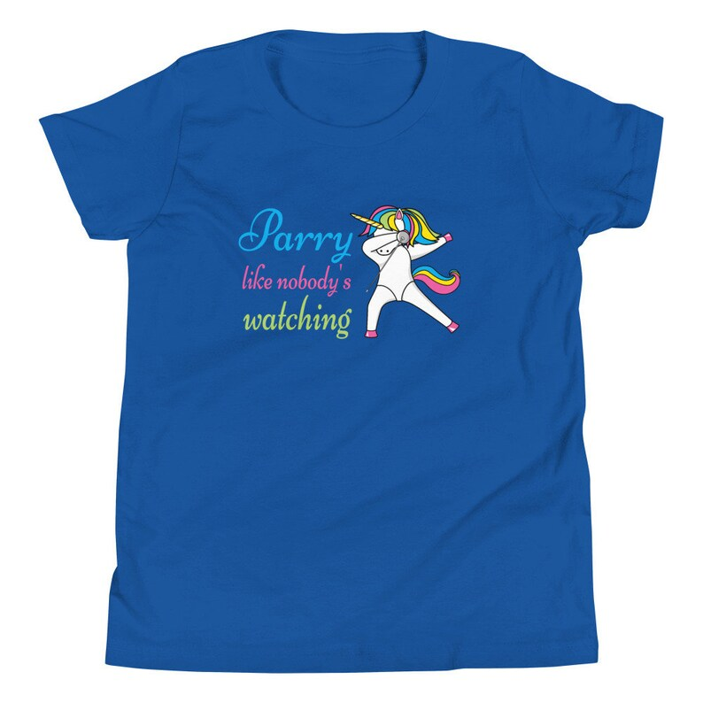 Prime Parry Cute Dancing Unicorn Fencing Kids T-Shirt