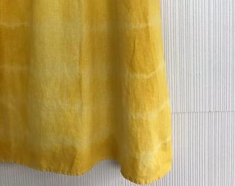 Liquid Sunshine Dress // OOAK vintage 2000s United Colors of Benetton linen sun dress // S/M