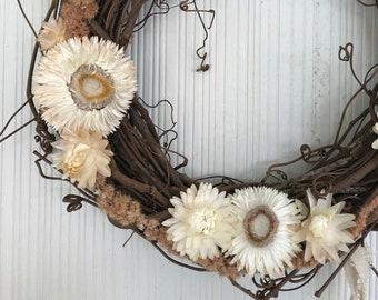 Moonflower Wreath
