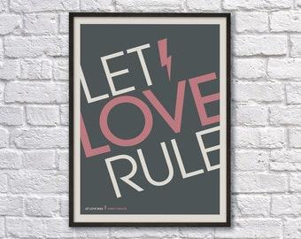 Let Love Rule Lyrics