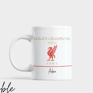 FREE P/&P Custom Name or Message Liverpool Mug