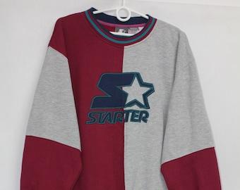 126c66244ed Vintage 90s Starter Sweatshirt Hoodie size M