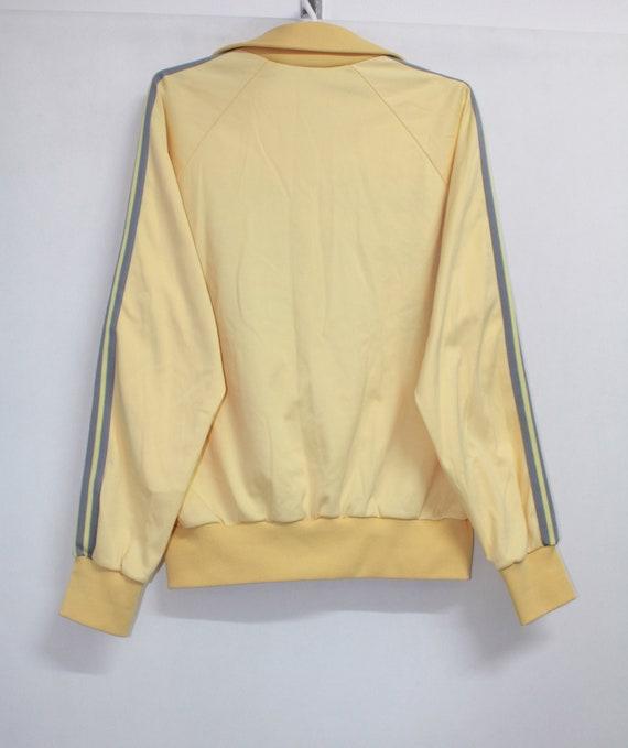 Vintage 70s Adidas Zip Up Track Top Jacket Coat M