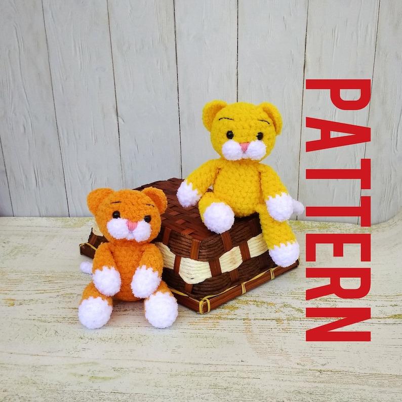 Ginger cat amigurumi pattern | Crochet cat pattern, Crochet ... | 794x794