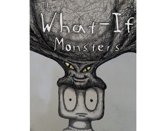 The What-If Monsters, wellbeing book, book about coping with anxiety and depression, stress management, wellness coaching book, self-help