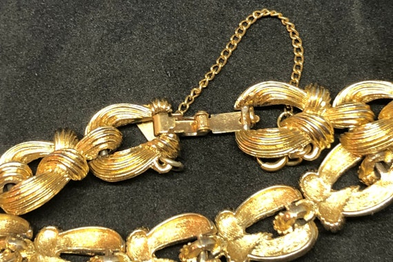 Vintage Monet Gold Toned Chain Bracelet, Monet Je… - image 3