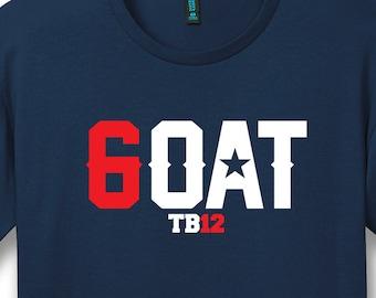 b24d97d220c9d5 Tom Brady Inspired GOAT TB12 Shirt