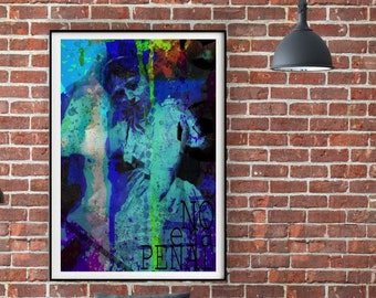 No Era Penal Painting 6x8 Canvas Panel