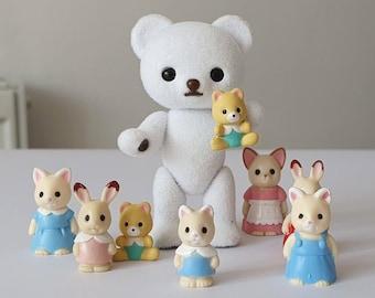 Miniature Sylvanian Family Figures