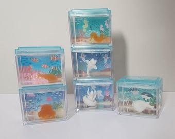 Miniature Realistic Japanese Aquarium Fish 1/6 1/12 scale