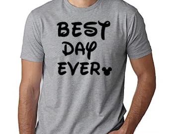 1369bf11 Disney Shirt / Disney Best Day Ever Shirt / Mens Mickey Mouse Shirt / Mens  Disney Shirt / Disney Dad Shirt / Matching Disney Shirts