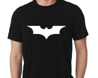 d121e841 Dark Knight T-Shirt / Batman T-Shirt / Adult Batman Shirt / Adult Dark  Knight T-Shirt / Mens Batman Shirt / Mens Dark Knight Shirt