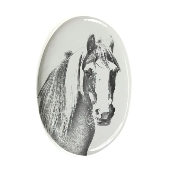 Highland Lynx Tombstone Plaque with a Photo of a Cat Custom Memorial Plaque Ceramic plate with Your Cat/'s Photo