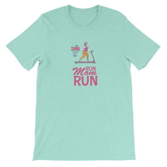 Running Shirt Women's | Funny Workout Shirt | Run Mom Run