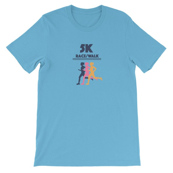 Running Shirt Women's | Funny Workout Shirt | 5K Run/Walk