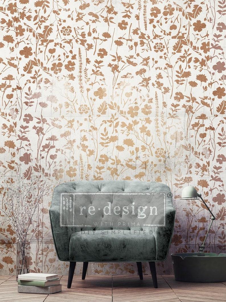 Modern Flora Redesign with Prima 3D Stencil