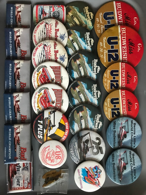 boat racing buttons