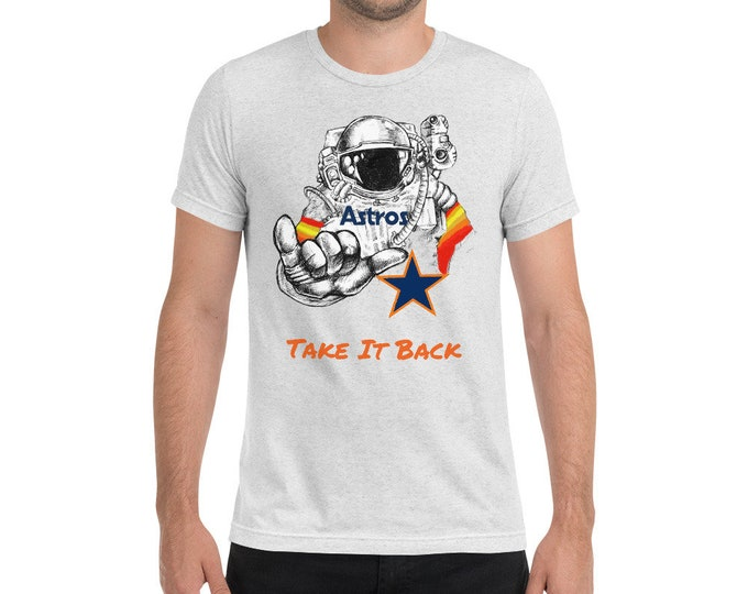 """Featured listing image: Astros """"Take it Back"""" t-shirt"""