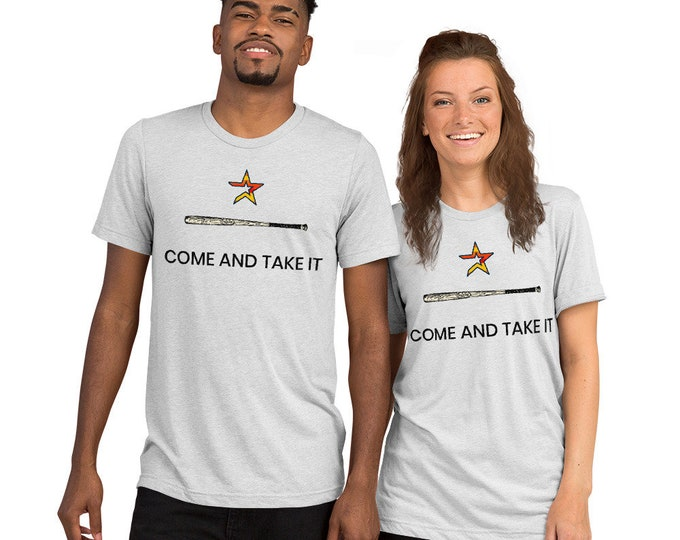 """Featured listing image: Astros """"Come & Take It"""" T-shirt"""