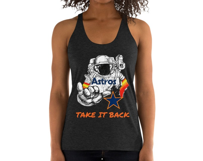 """Featured listing image: Women's Astros """"Take it Back"""" Racerback Tank"""