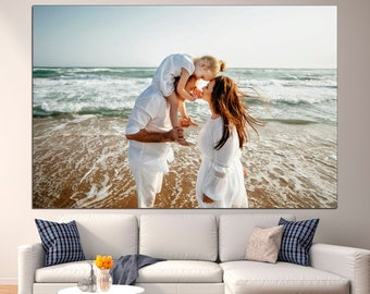 Personalize wall art Custom wall decor Personalized canvas