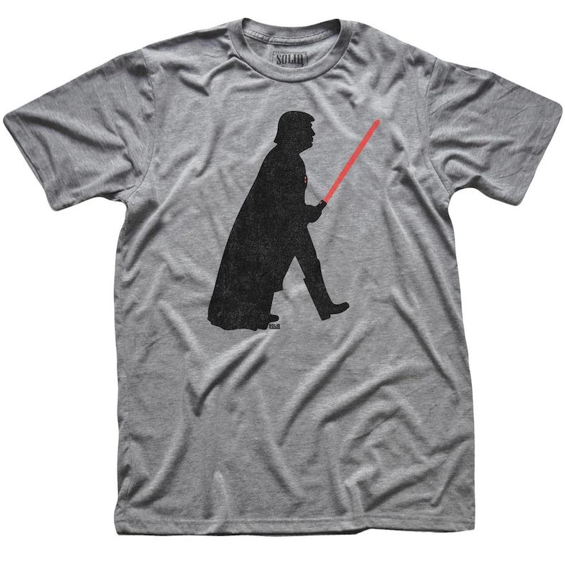Retro Star Wars Tee Cool Darth Graphic Tee Funny Politics Shirt Trump Vader Vintage Inspired T-shirt