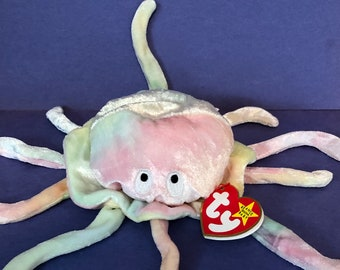 0c6c7220c27 Goochy . 1998 Ty Beanie . Jellyfish . Vintage . Original Tags . Great Gift  . Collector s Item . Mint Condition . Free US Shipping .