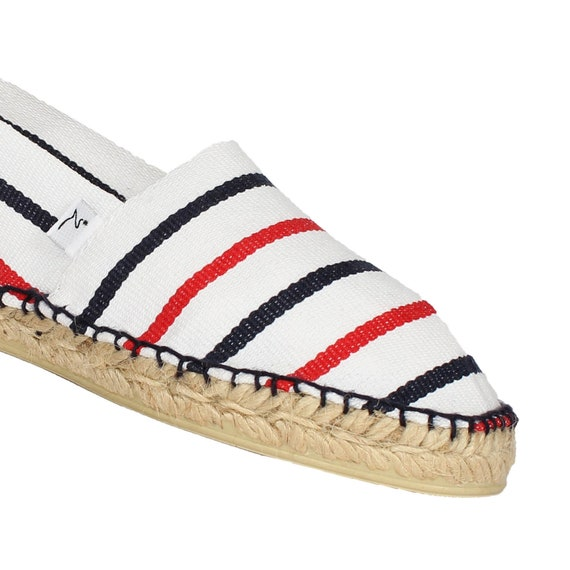 8b47fbba9f65c Blue sandal-white-red-wear French espadrilles!!!