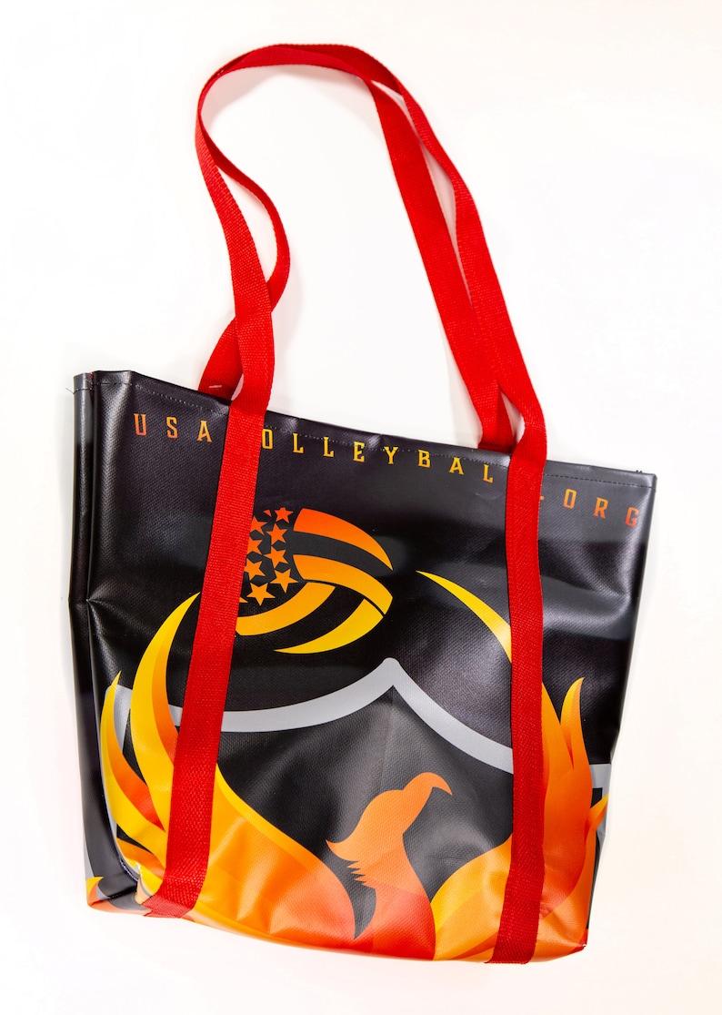 Phoenix Rising Banner Bag Refugee Made