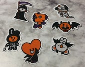 BT21 Character Small Halloween Stickers (49 Small Stickers)