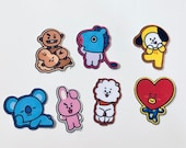 BT21 Stickers (35 Small Stickers)